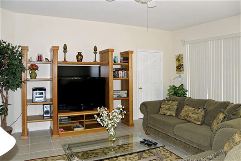Living room in Wade Hampton Executive, Highlands Reserve Orlando - Florida