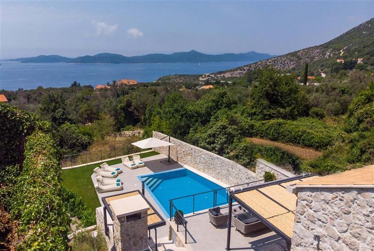 Setting of Villa Island View, Dubrovnik