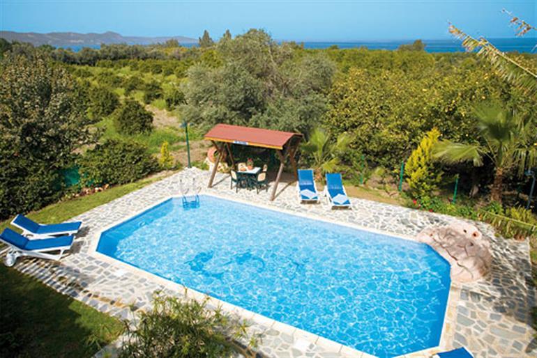 Swimming pool at Antonis, Argaka