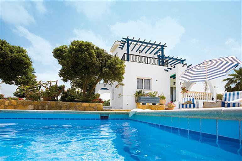 Swimming pool at Apollonia, Coral Bay