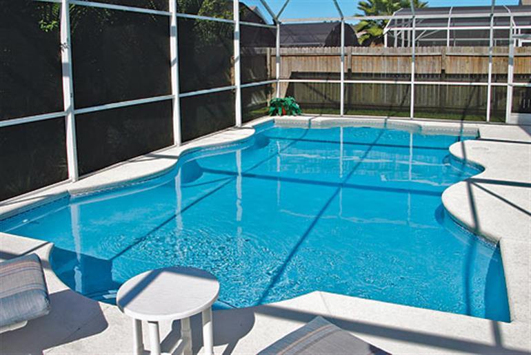 Swimming pool at Disney Area Villas ASV4PP, Disney Area and Kissimmee Orlando - Florida