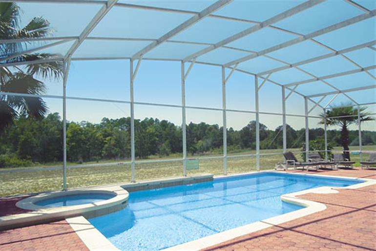 Swimming pool at Fishers Island Executive, Highlands Reserve Orlando - Florida