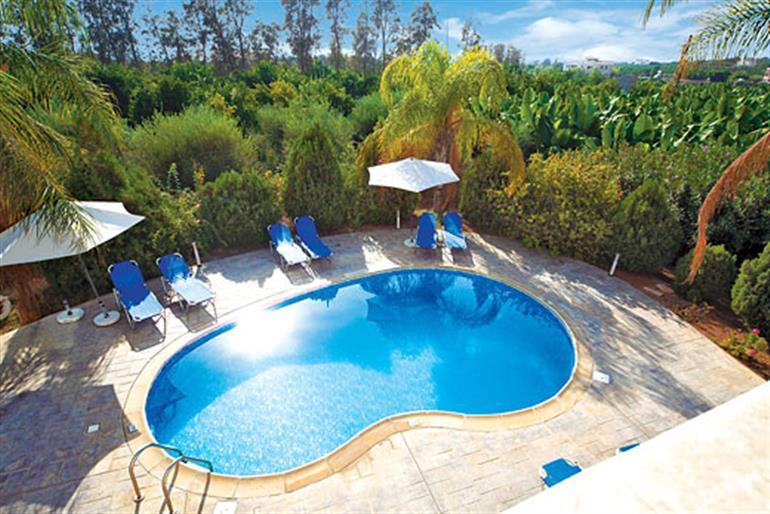 Swimming pool at Golden Coralia II, Coral Bay