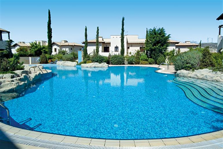 Swimming pool at Helios Heights AC01, Aphrodite Hills
