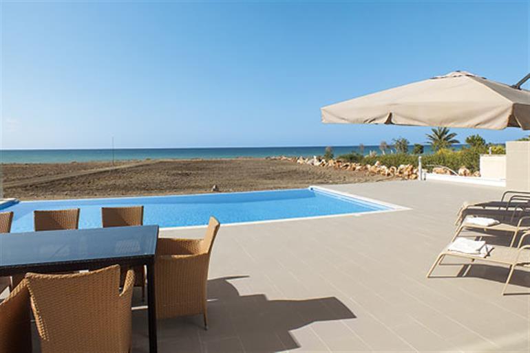 Swimming pool at Limni Beach Villa, Polis, Cyprus