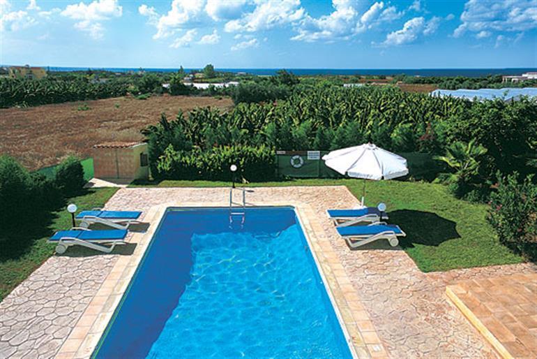 Swimming pool at Limnos, Coral Bay