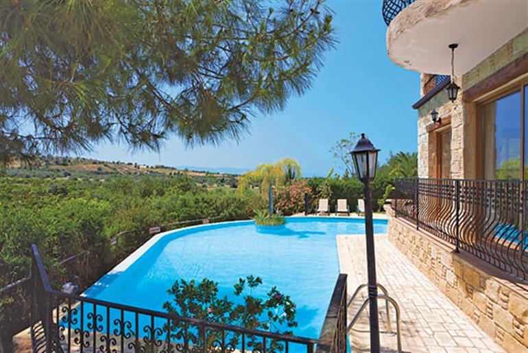 Swimming pool at Sweet Memories, Argaka