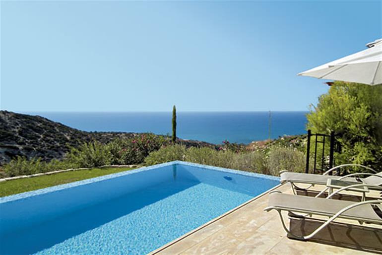 Swimming pool at Theseus Village TG02, Aphrodite Hills