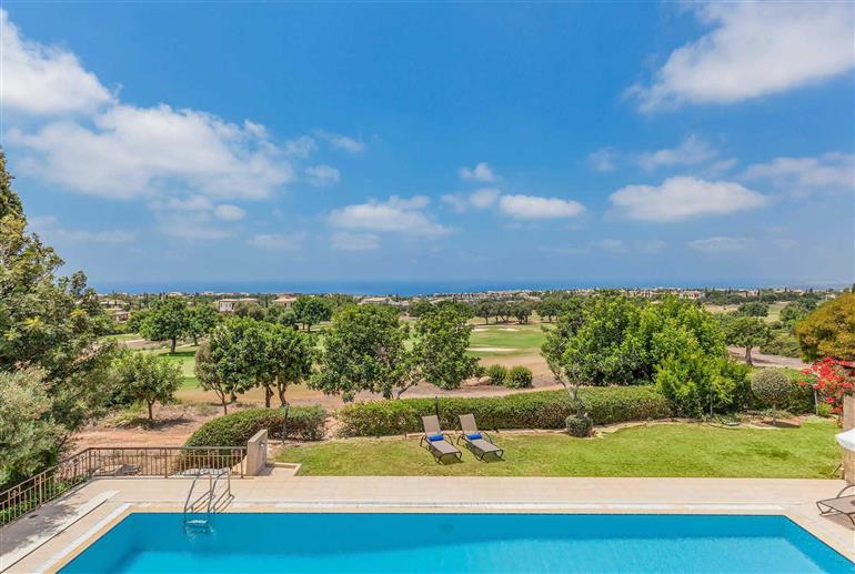 Swimming pool at Villa Aphrodite Hills Elite 151, Aphrodite Hills