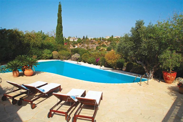 Swimming pool at Villa Aphrodite Hills Superior 312, Aphrodite Hills