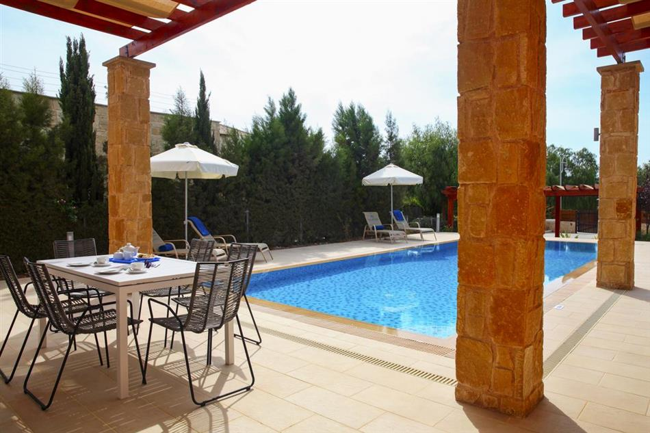 Swimming pool at Villa Axis, Cyprus