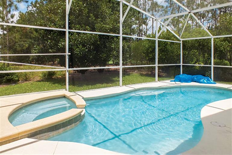 Swimming pool at Villa Ballyneal, Orlando - Florida