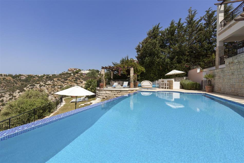 Swimming pool at Villa Cassia, Cyprus