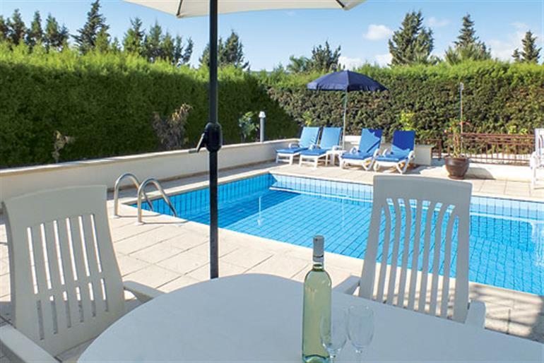 Swimming pool at Villa Coral Gardens, Coral Bay