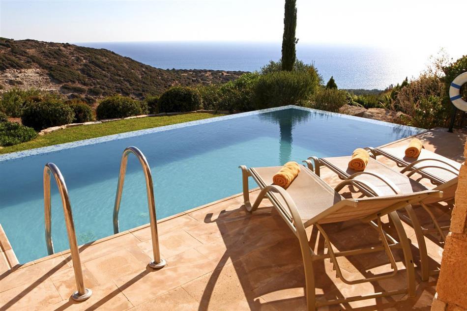 Swimming pool at Villa Daria, Cyprus