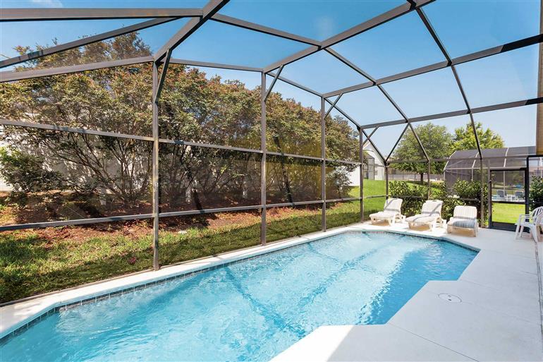 Swimming pool at Villa Disney Area 3, Disney Area and Kissimmee