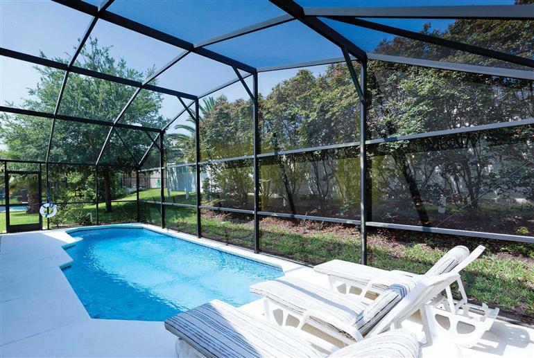 Swimming pool at Villa Disney Area 4, Disney Area and Kissimmee