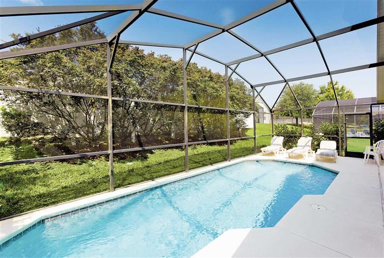 Swimming pool at Villa Disney Area 5, Disney Area and Kissimmee