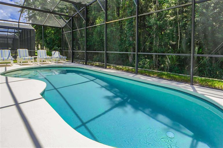 Swimming pool at Villa Eagle, Disney Area and Kissimmee, Orlando - Florida