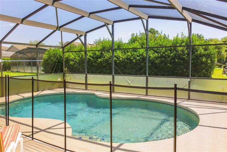 Swimming pool at Villa Earlmont Place, Disney Area and Kissimmee