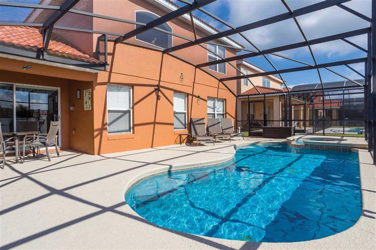 Swimming pool at Villa Enchanting Escape, Solana