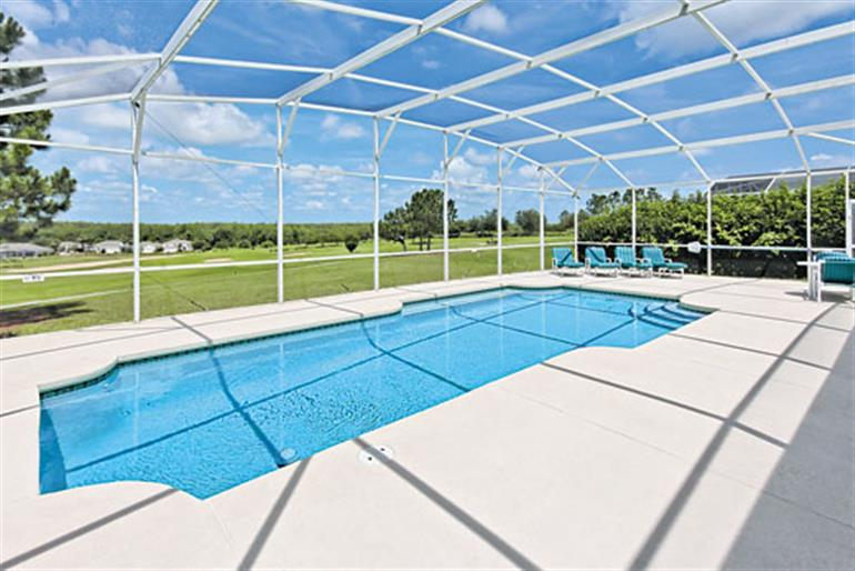 Swimming pool at Villa Gentiana, Highlands Reserve Orlando - Florida