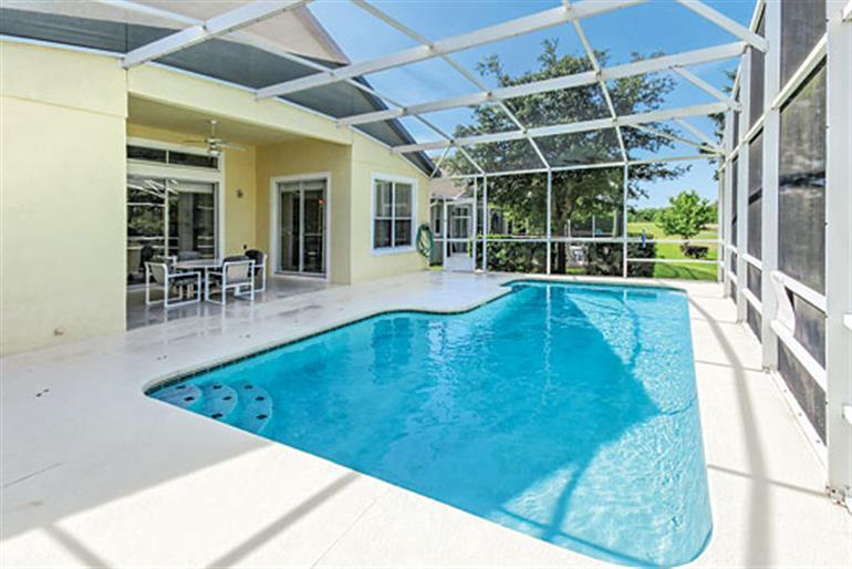 Swimming pool at Villa Hampton Lodge Executive, Highlands Reserve Disney Area and Kissimmee