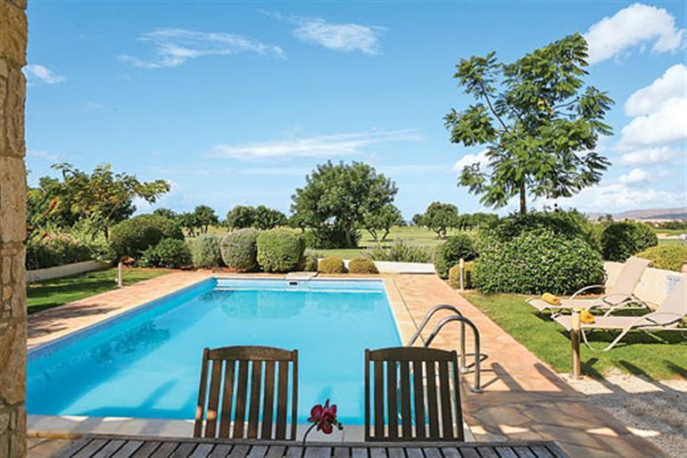 Swimming pool at Villa Hestiades Green Junior 32, Aphrodite Hills