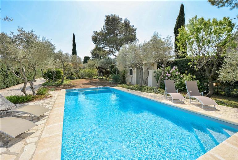 Swimming pool at Villa La Gauloise, St Remy de Provence