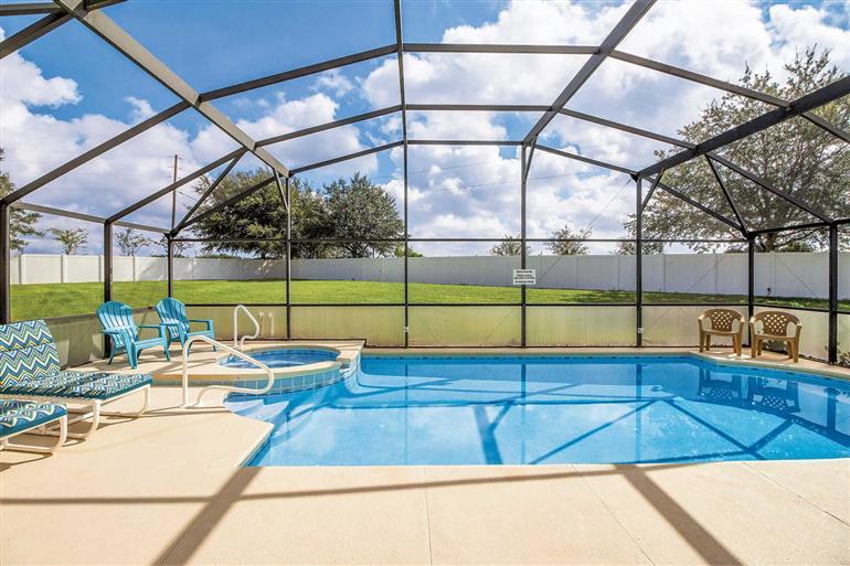 Swimming pool at Villa Magical Escape, Solana