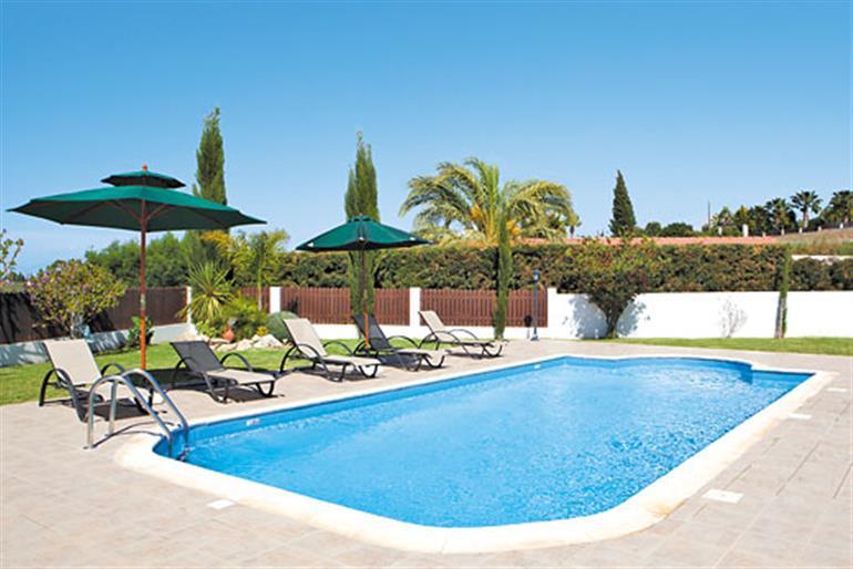 Swimming pool at Villa Melody, Latchi