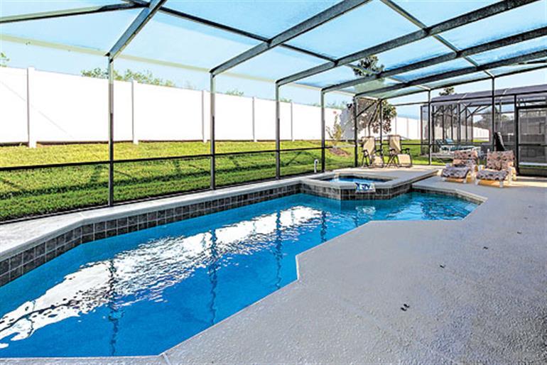 Swimming pool at Villa Naranja Grove Executive, Westhaven Disney Area and Kissimmee
