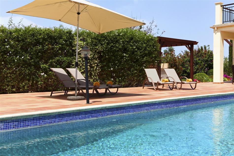 Swimming pool at Villa Nyssa, Cyprus