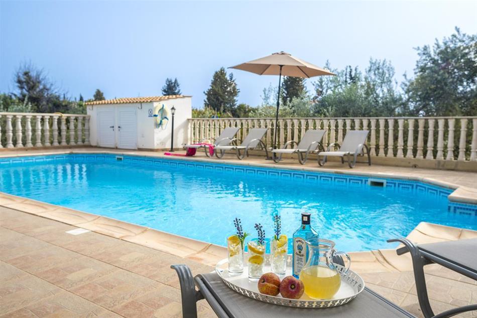 Swimming pool at Villa Othello, Cyprus