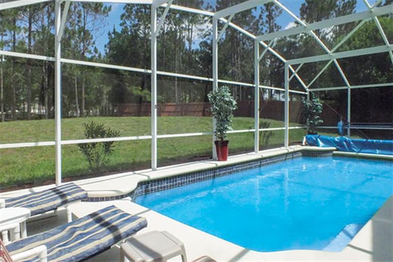 Swimming pool at Villa Oxford House, Orlando - Florida