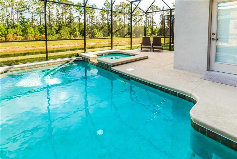 Swimming pool at Villa Paradise Palms 5 Bed Ocean, Paradise Palms