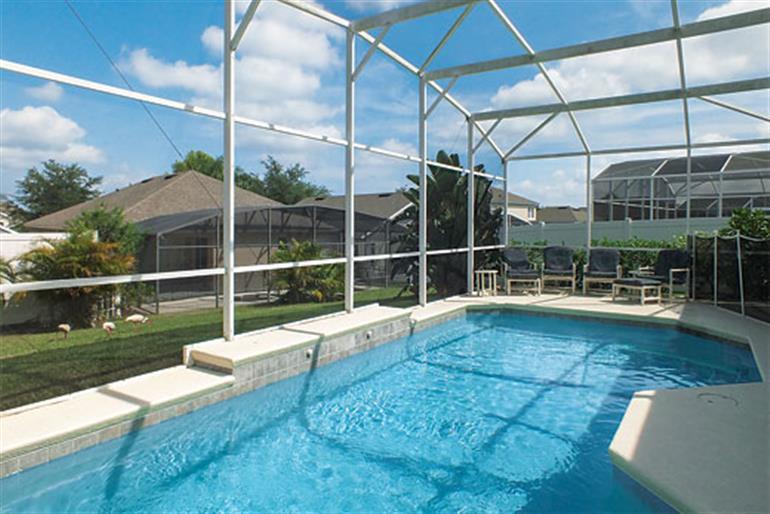 Swimming pool at Villa Quaker Ridge Executive Plus, Orlando - Florida