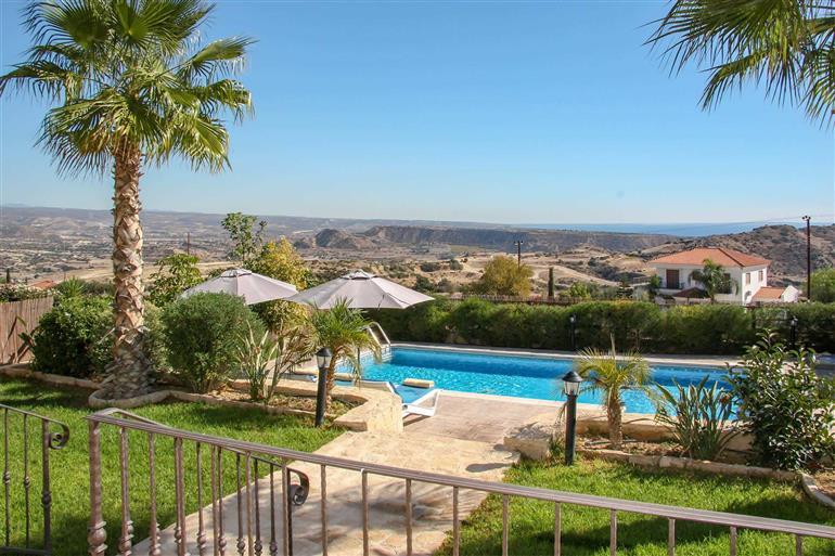 Swimming pool at Villa Saturn, Pissouri, Cyprus