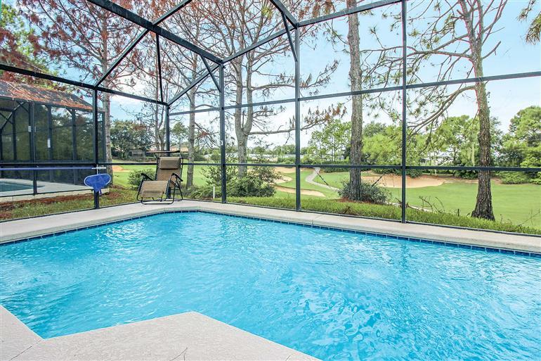 Swimming pool at Villa Southern Dunes Executive 5, Southern Dunes