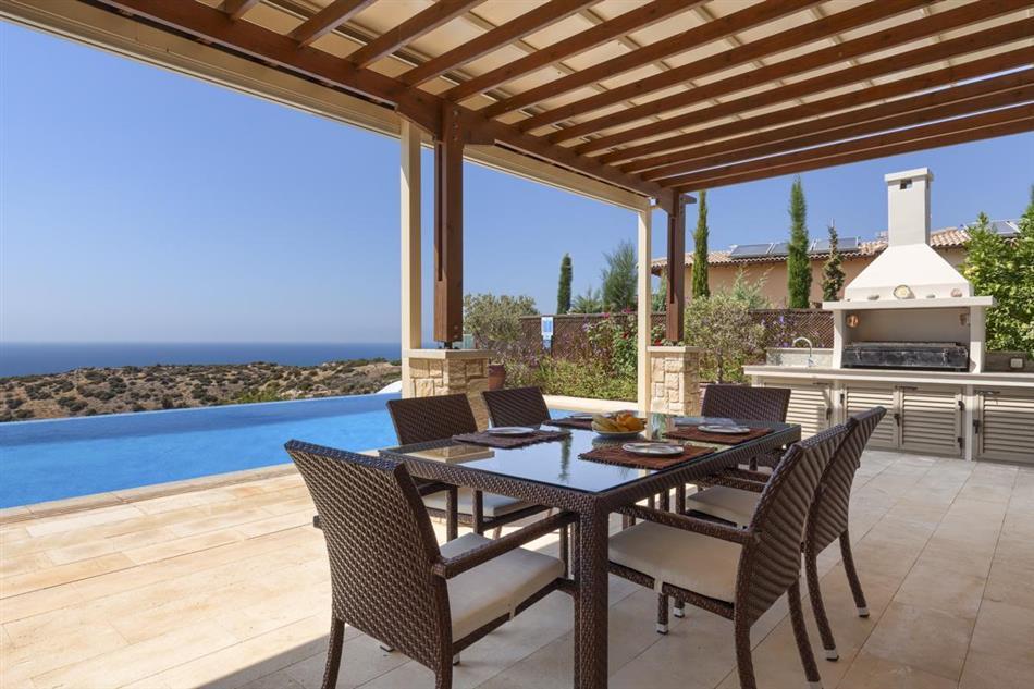 Swimming pool at Villa Tee, Cyprus