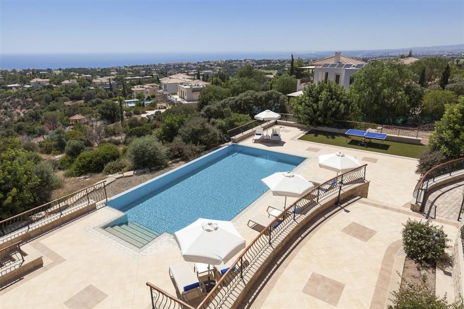 Swimming pool at Villa Theodora, Cyprus