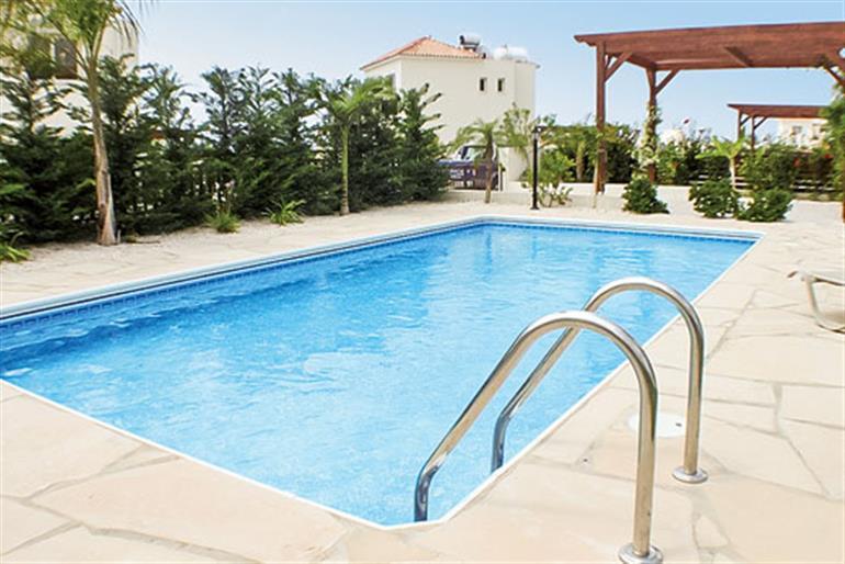 Swimming pool at Villa Vikki, Coral Bay