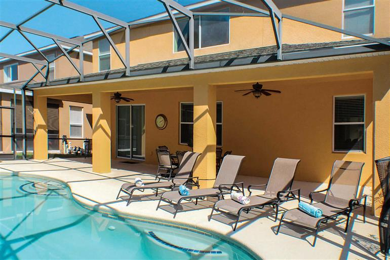 Swimming pool at Villa Watersong Dream, Disney Area and Kissimmee