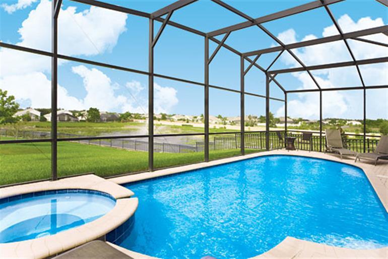 Swimming pool at Villa Windsor Hills Executive Plus VI, Windsor Hills Resort Disney Area and Kissimmee