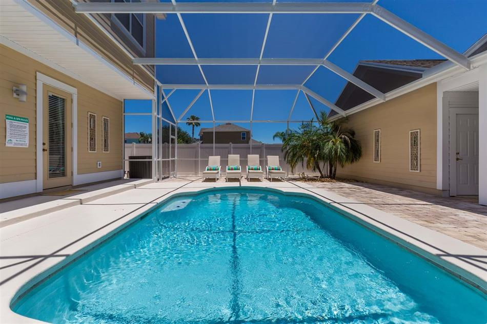 Enjoy the swimming pool at
