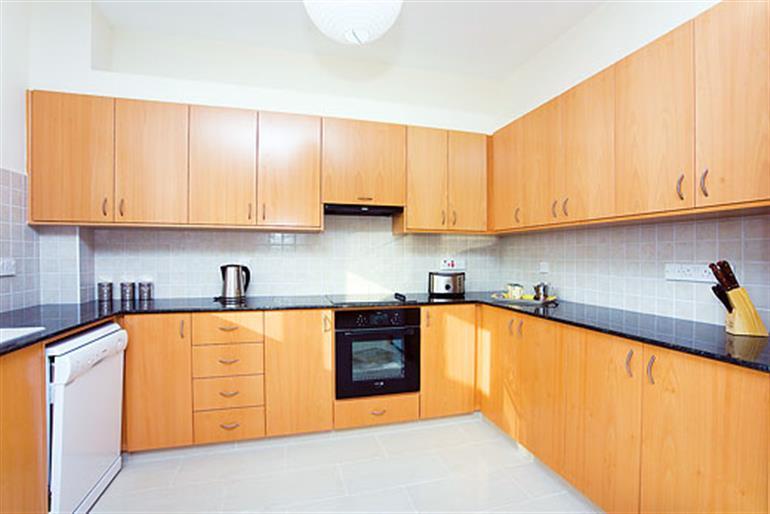The kitchen in Coralia Dream 13, Coral Bay